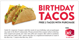 jack in the box birthday coupon