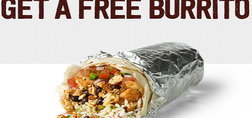 Chipotle Free Burrito Bogo Buy One Get One Free