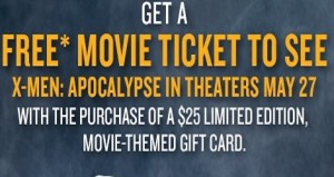 Red Robin coupon Special for Free Movie