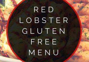 red lobster gluten free menu