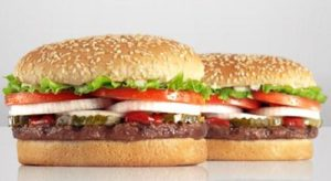 Burger king free whopper coupon