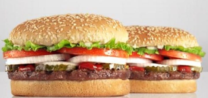 Burger king free whopper coupon